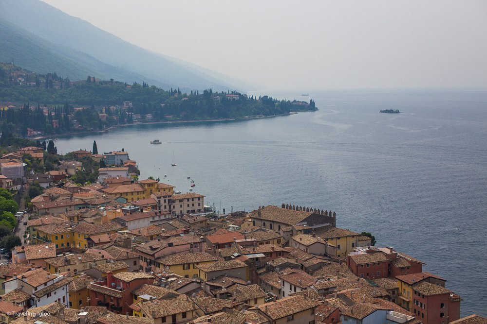 Lake Garda Malcesine Italy Fortress View
