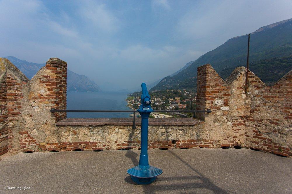 Lake Garda Malcesine Italy Fortress