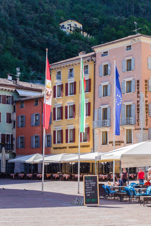 Riva del Garda Lake Garda Italy