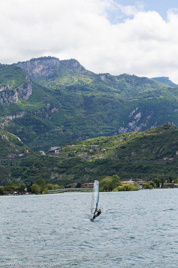Lake GarWindsurfing Lake Garda Italyda Italy