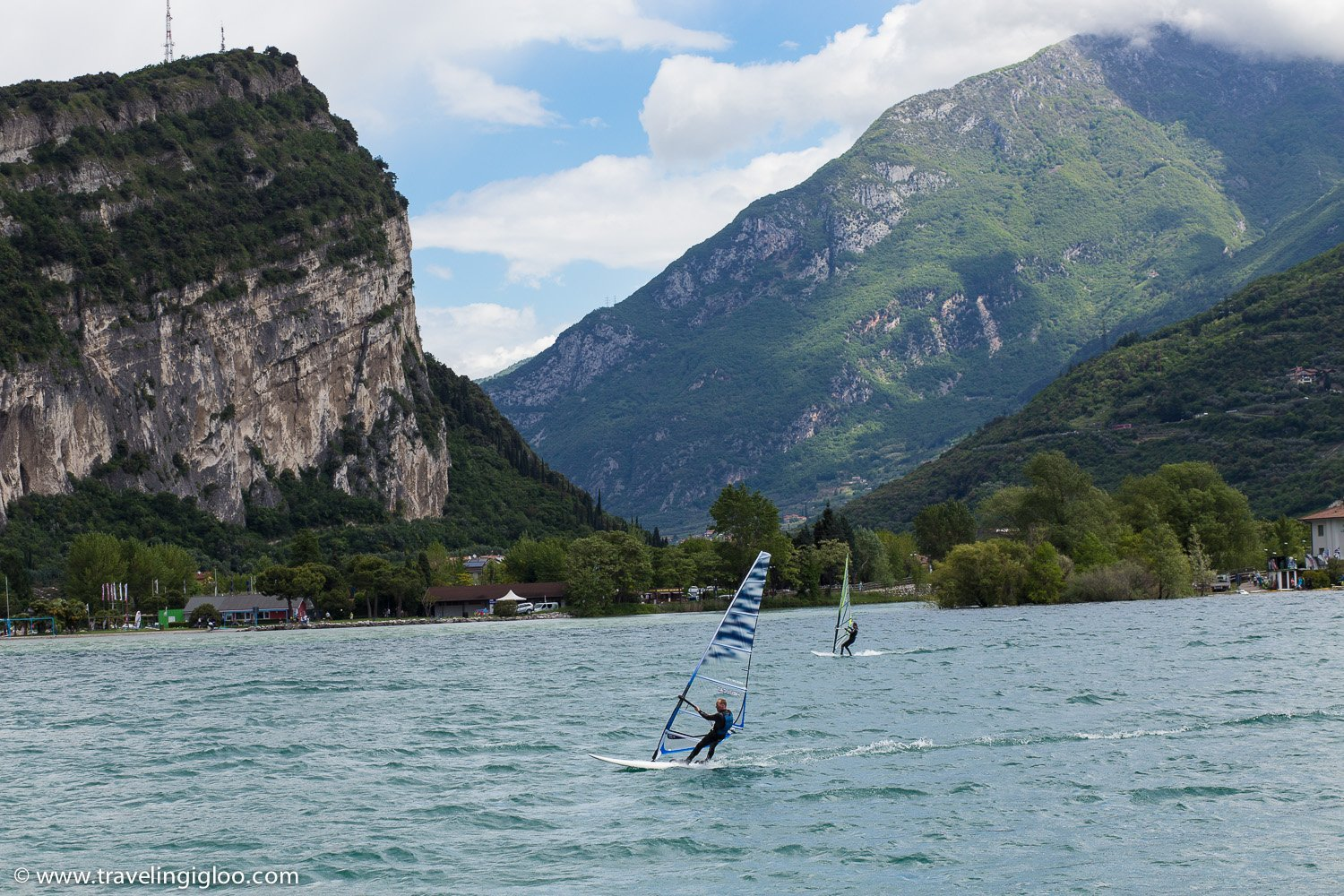 Windsurfing Lake Garda Italy