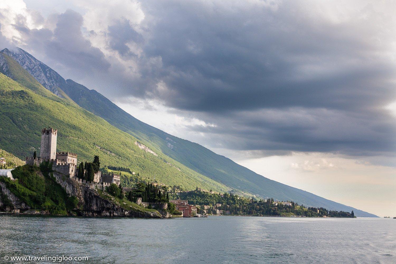 Malcesine Castle Lake Garda Italy