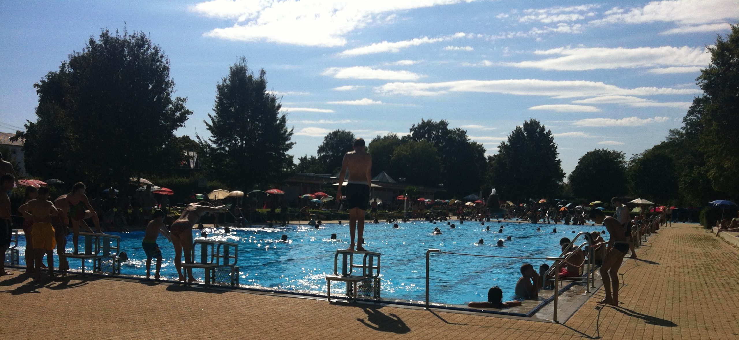 Image of Outdoor Swimming Pool Germany