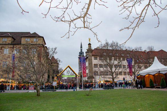 Stuttgart Weihnachtsmarkt Christmas Market Germany