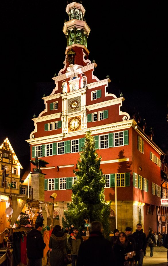 Esslingen Rathaus Christmas Market Germany