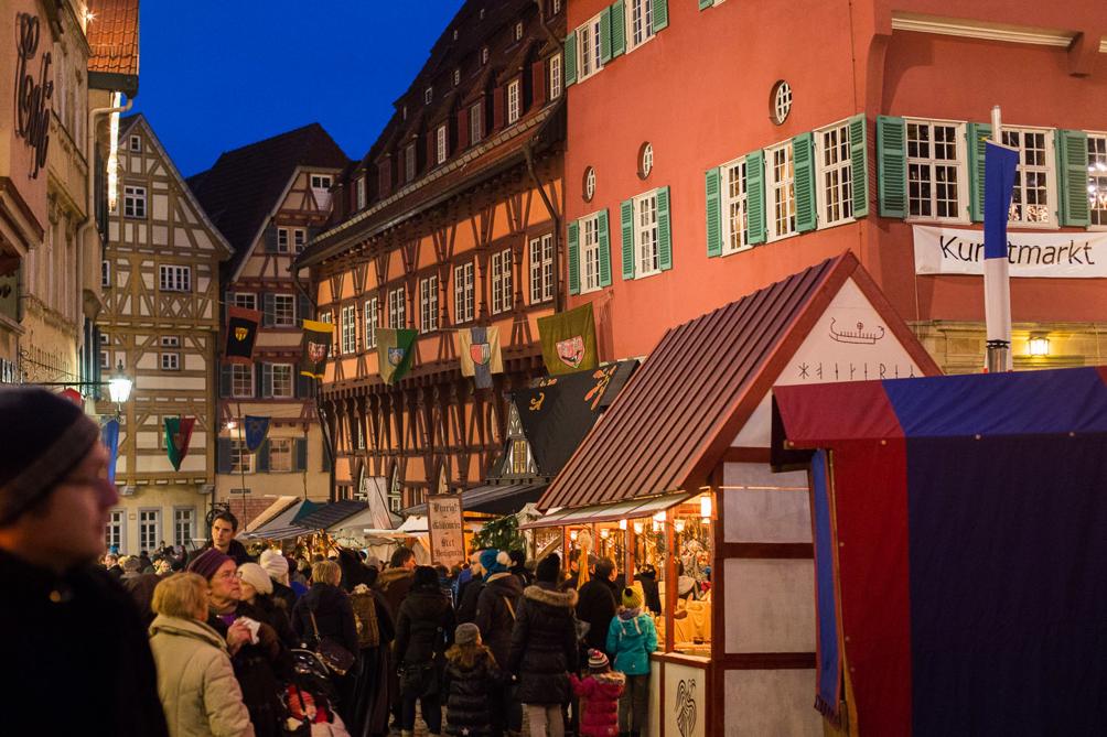 Esslingen Medieval Christmas Market Germany