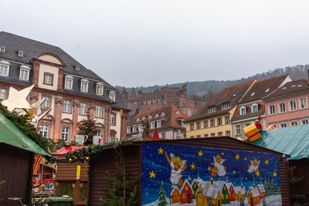 Heidelberg Germany Christmas Market