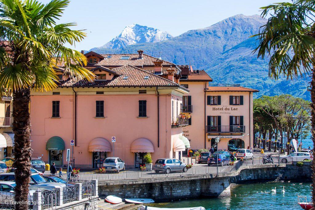 Menaggio, Lake Como Hotel Du Lac and Mountains