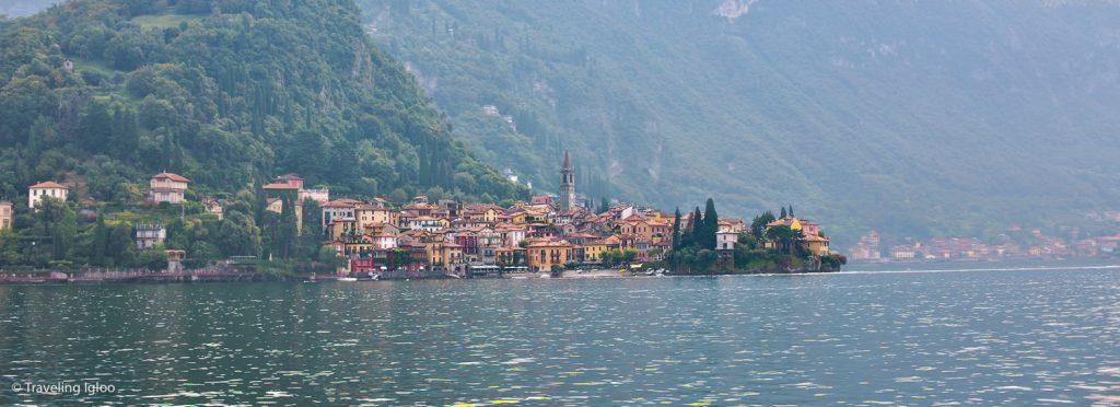 Varenna Cityscape Lake Como Italy