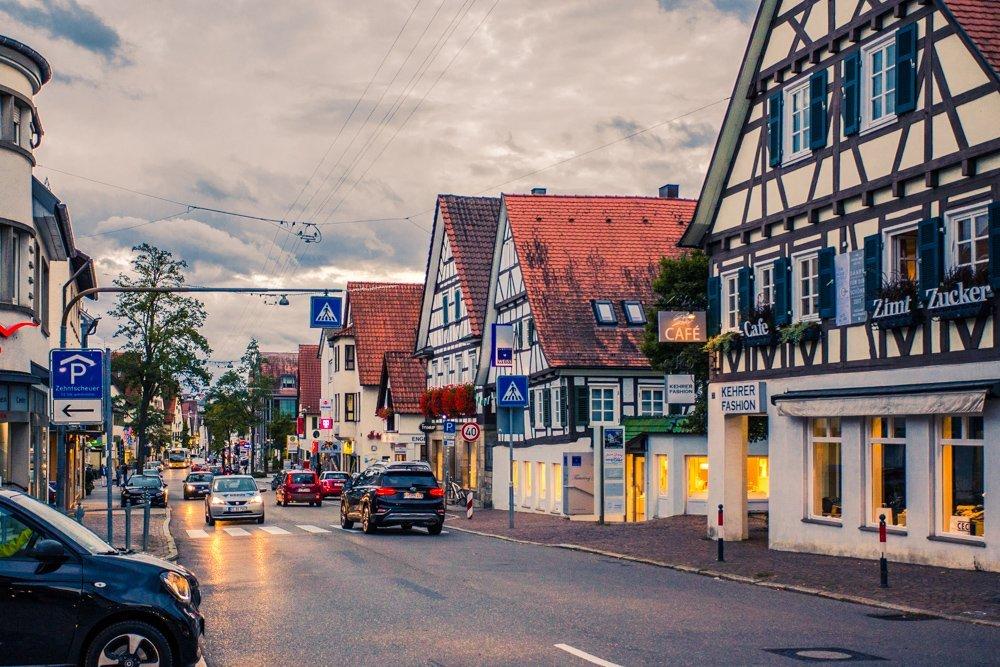 Town Near Stuttgart Germany