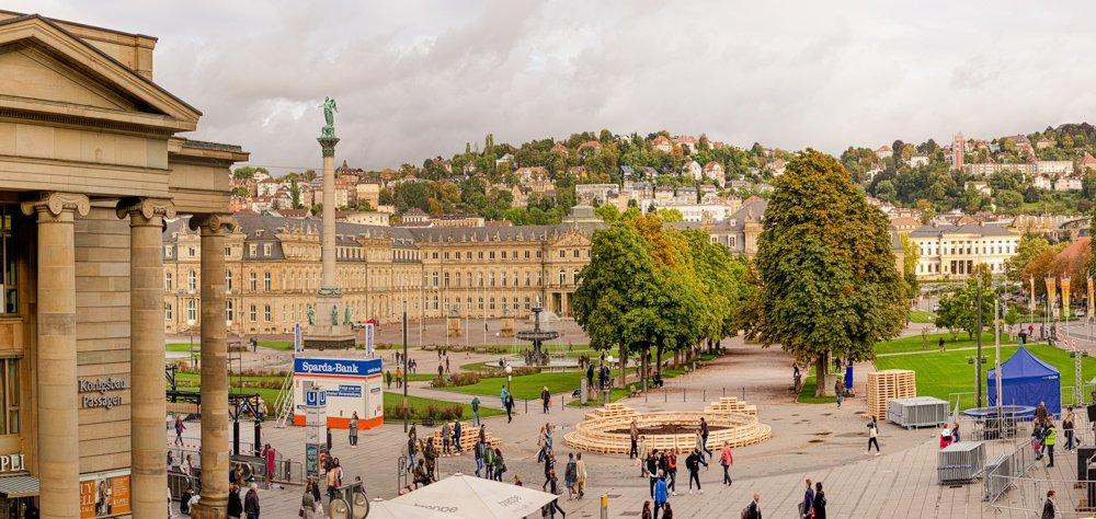 Stuttgart Germany Schlossplatz