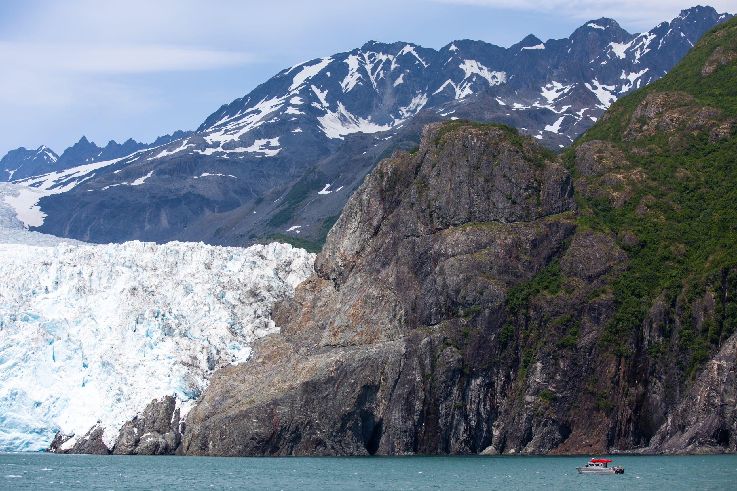 Holgate Glacier Seward Alaska