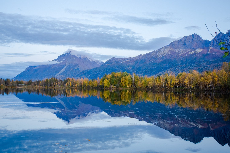 Reflections Lake Wasilla Alaska