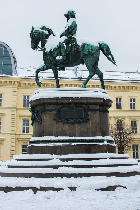 Vienna Austria Statue